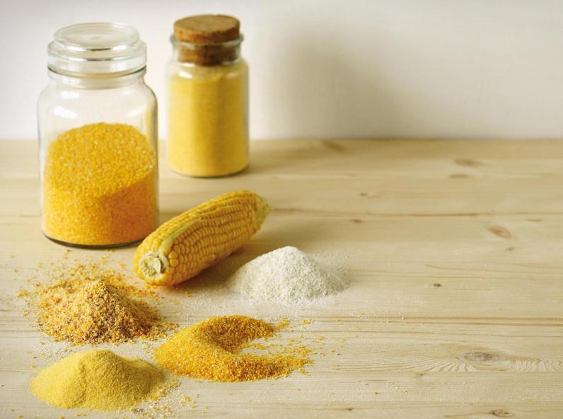 Polenta de grains maïs sans gluten