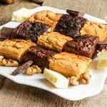 Brownies Chocolat Blanc Sans Beurre et cajou