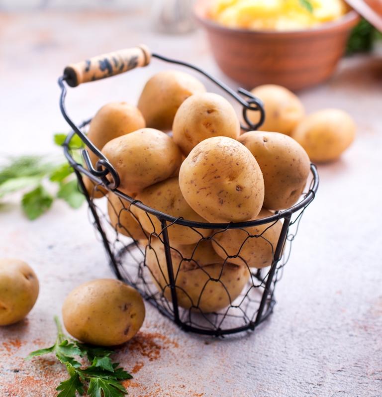 Pommes de Terre en panier