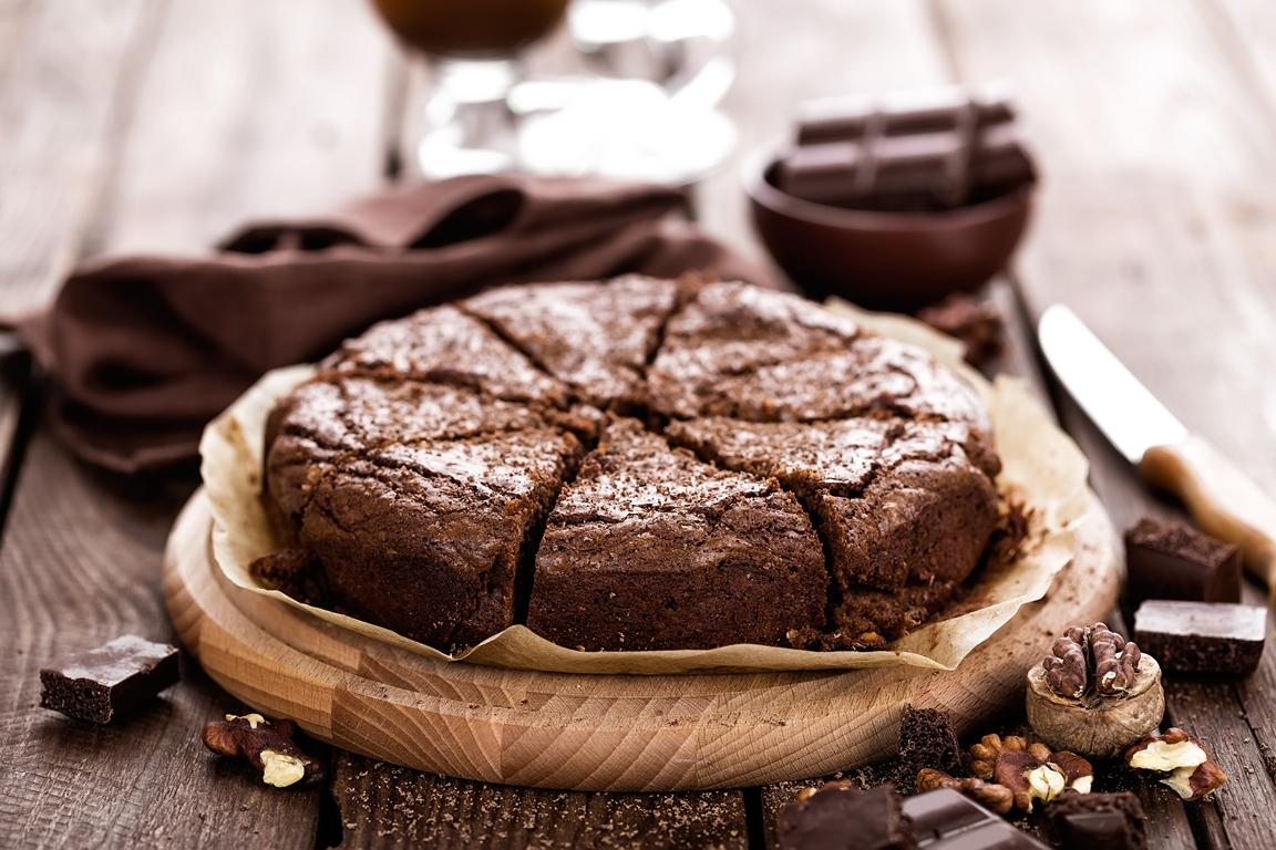 gateau chocolat courge miel diététique