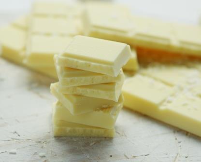 Morceaux de chocolat blanc