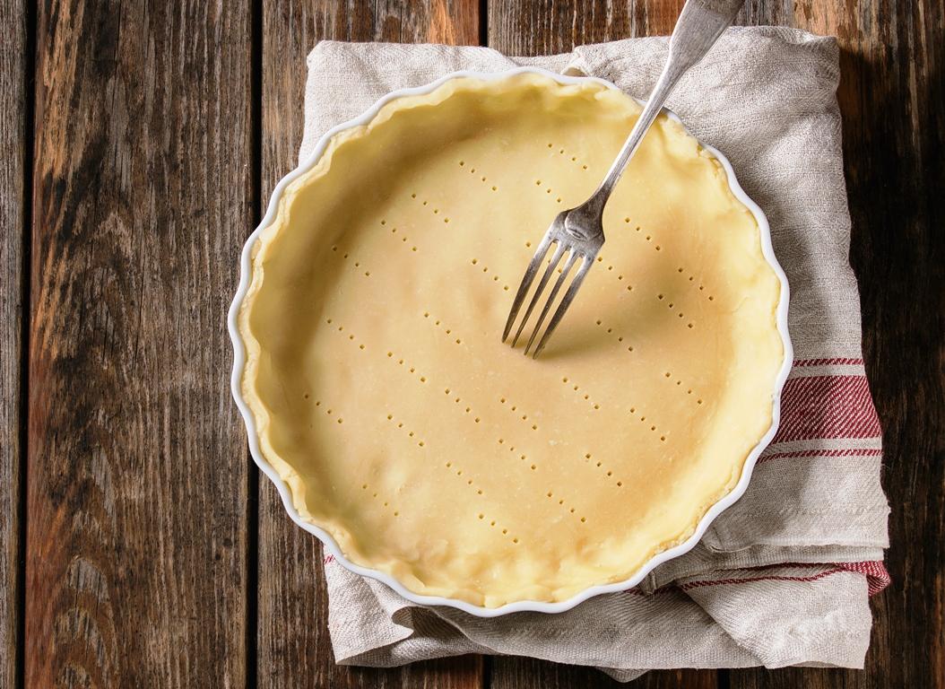 Une pâte brisée sans beurre