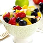 fruits d'été et eau