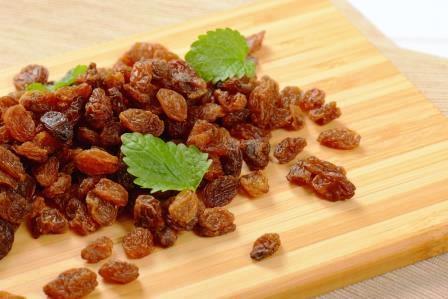 Raisins secs prêts à consommer